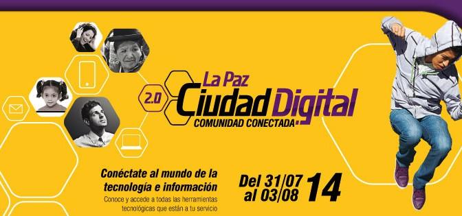 Convocatoria voluntarios feria Ciudad Digital 2.0