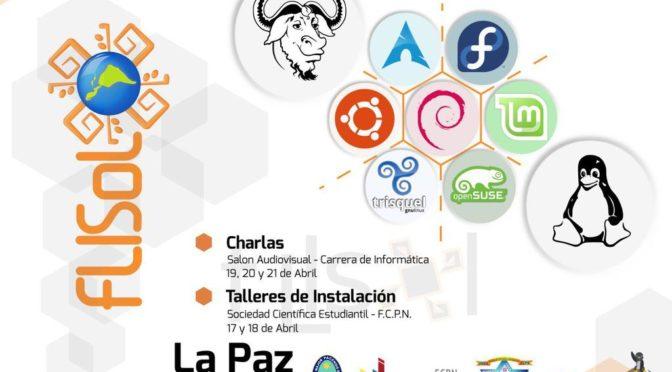 FLISoL 2017 en La Paz